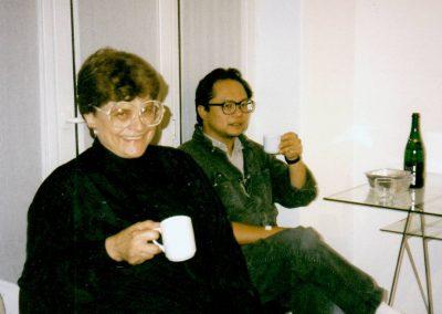 Helen Harrison und Mel Chin