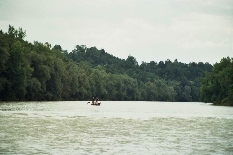 2 Mann im Boot