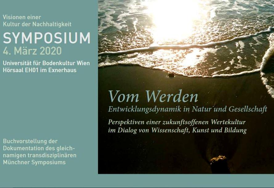 """Einladung Symposium Wien """"Vom Werden"""" © Beatrice Voigt"""
