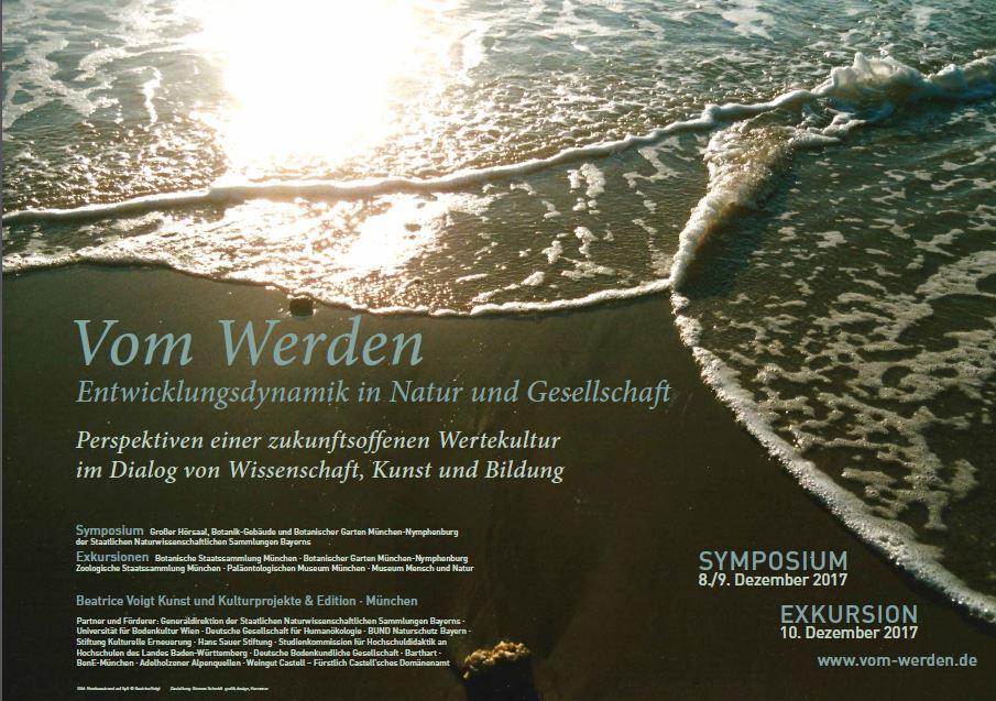 """Titelbild Symposium """"Vom Werden"""" © Beatrice Voigt"""